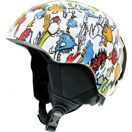 Smith Antic Junior White Dinomonster kask narciarsko/ snowboardowy