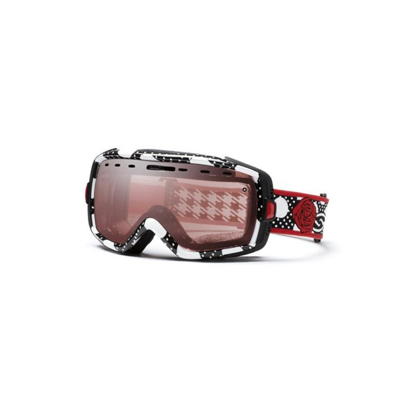 Smith Optics Heiress Black/White Ignitor Mirror gogle narciarskie