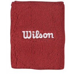 Wilson Double Wrist Band Red