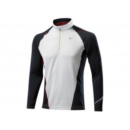Mizuno Warmalite 1/2 Zip LS Tee bluza do biegania