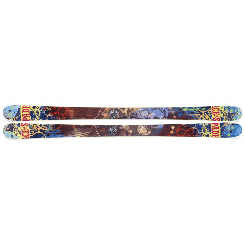 Nordica Ace of Spades Ti Narty Freestyle Park & Pipe