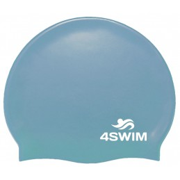 Czepek 4SWIM Solid Color Cap aqua