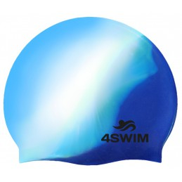 Czepek 4SWIM Multi Color Cap biały