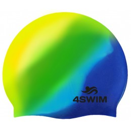 Czepek 4SWIM Multi Color Cap żółty