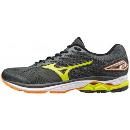 Buty do biegania Mizuno Wave Rider 20 popielate 2017