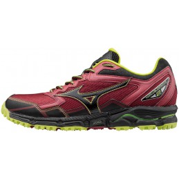 Buty do biegania Mizuno Wave Daichi 2 bordowe 2017