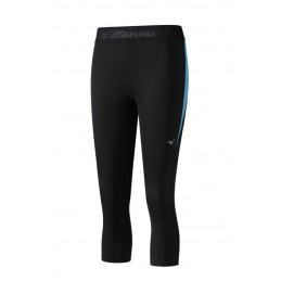 Mizuno Getry Impulse Core 3/4 Tight damskie niebieskie