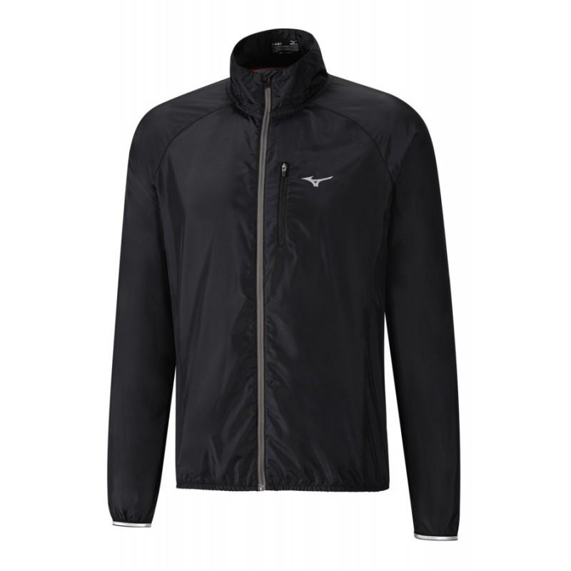 Mizuno Kurtka do biegania Impulse Impermalite Jacket czarna