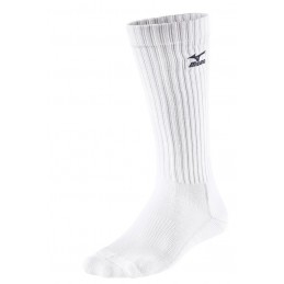 Mizno Skarpety siatkarskie Volley Socks Comfort Long białe
